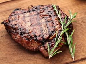 steaky, grilování