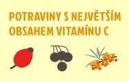 Infografika: Které potraviny obsahují nejvíce vitaminu C?