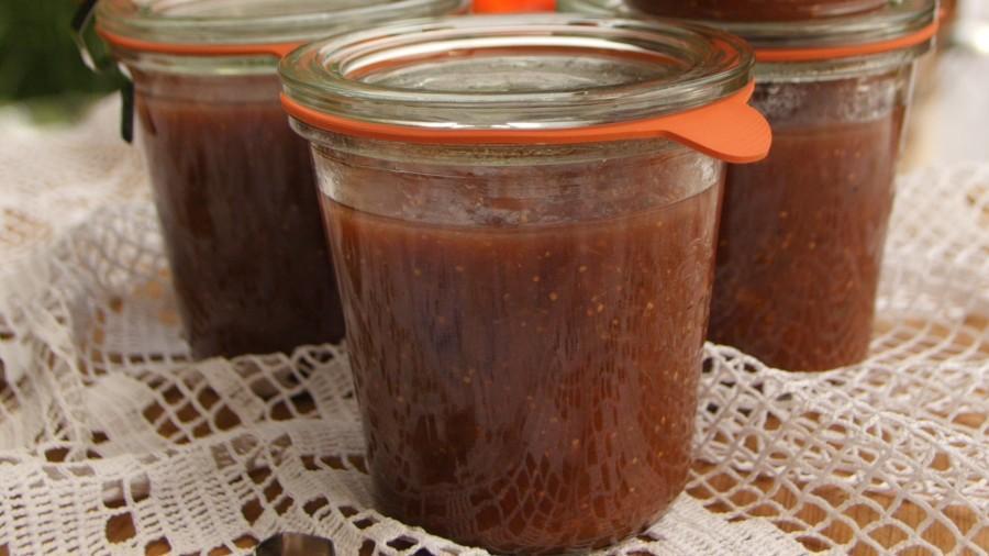 Fotopostup: Fíková marmeláda se skořicí