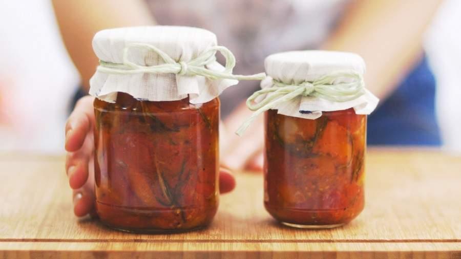 Fotopostup: Pečená rajčata s rozmarýnem