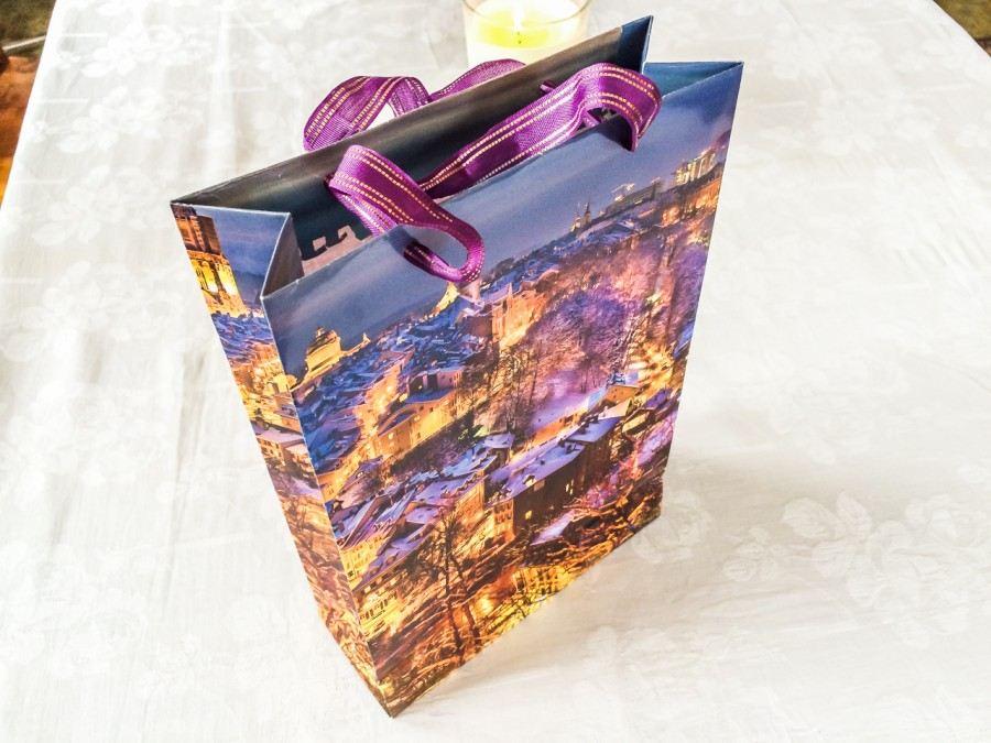 Fotopostup: Originální dárková taška