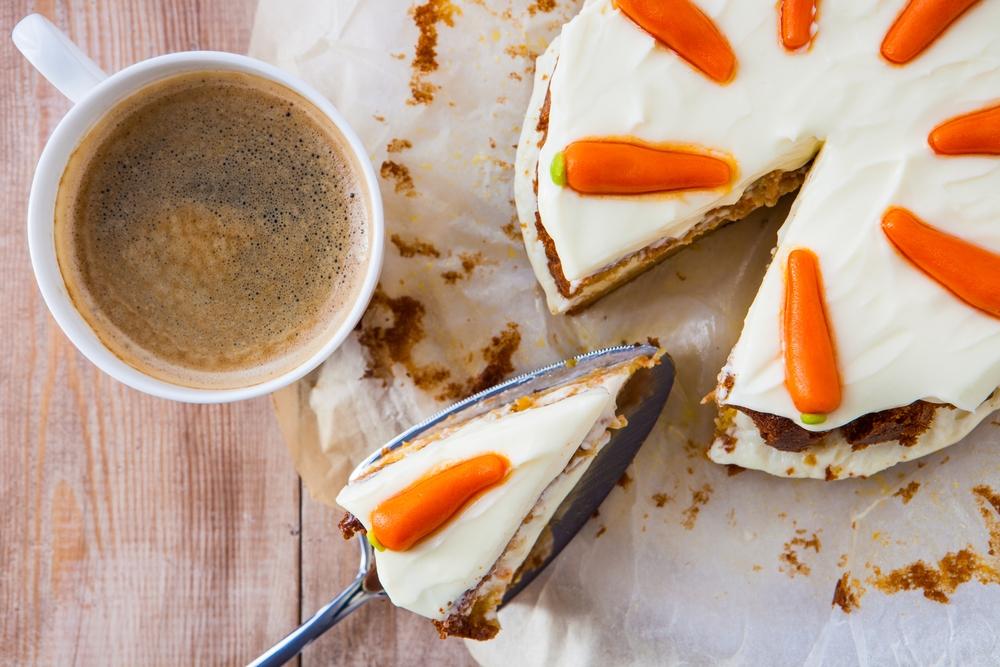 Mrkev, dort, pečení, sladké