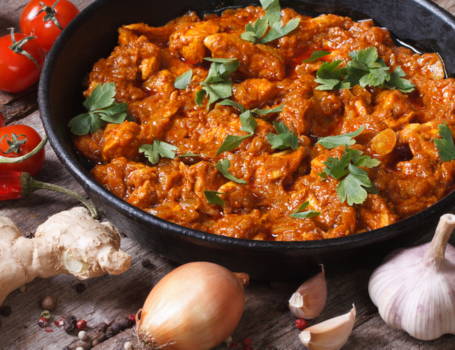 Kuřecí curry: orientální večeře za 10 minut