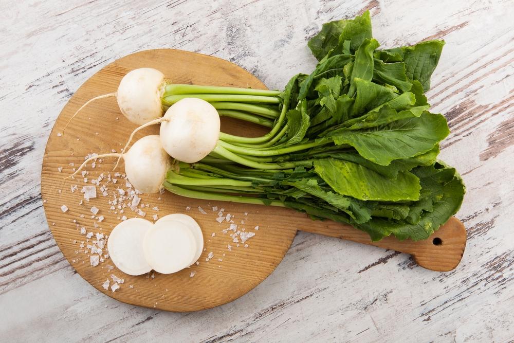 Bílá, ředkvičky, zelenina