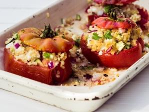 Plněná rajčata kuskusem