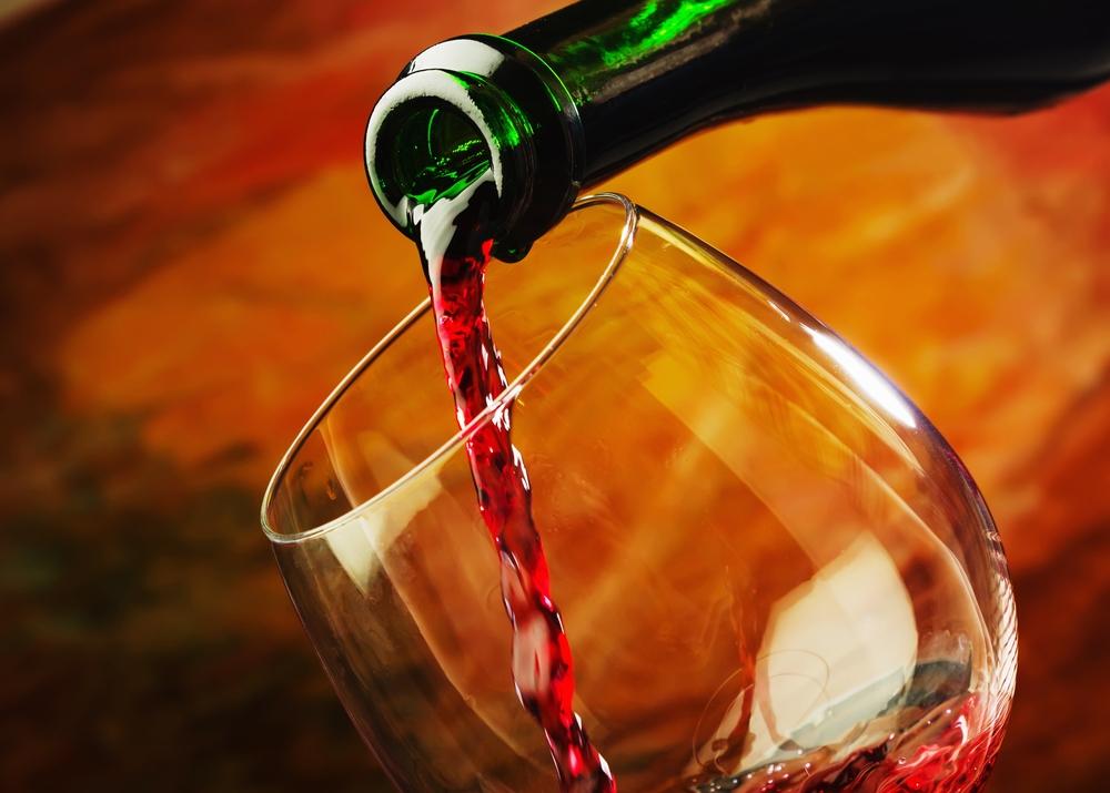 Červené víno, nápoj, pití, alkohol