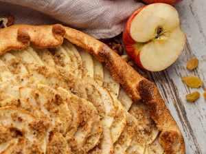 Voňavý jablečný koláč