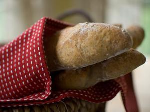 Domácí chlebová bageta