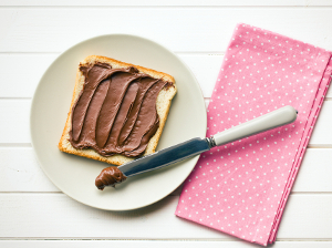 Zdravá kakaová pomazánka: domácí nutella