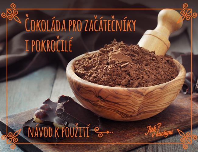 Čokoláda pro začátečníky i pokročilé – návod k použití
