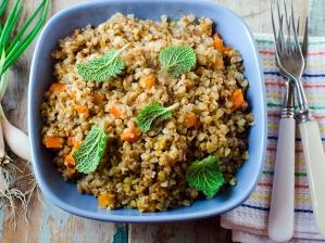 Rýžová a pohanková kaše