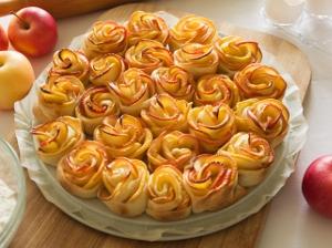 Smažené růže - sladká pochoutka