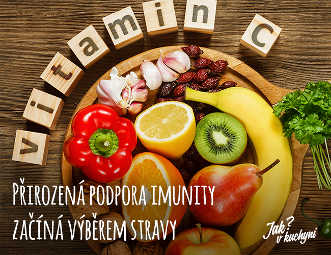 Přirozená podpora imunity začíná výběrem stravy