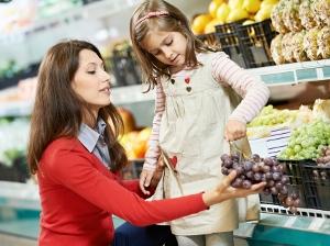 hrave nakupovani s detmi