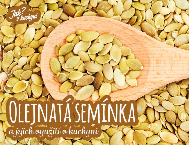Olejnatá semínka a jejich využití v kuchyni