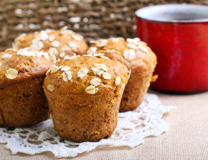 Hrnkové špaldové muffiny