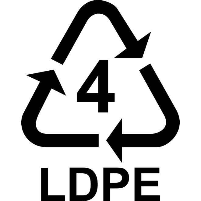 Recyklační symbol_LDPE_4