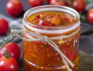 Pikantní rajčatový džem