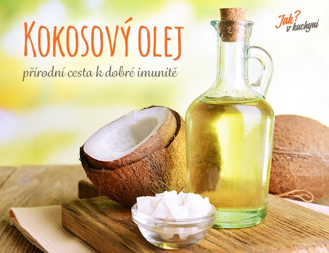Kokosový olej – přírodní cesta kdobré imunitě