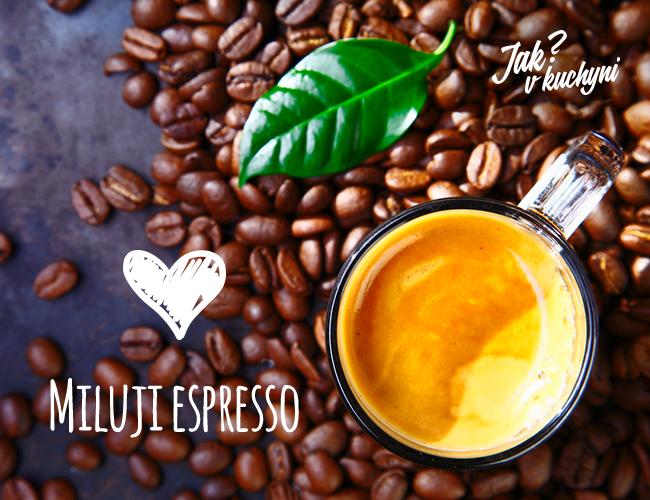 Miluji espresso