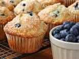 Borůvkový muffin