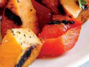 Grilované papriky