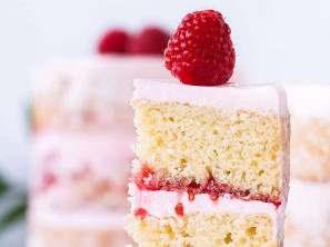 Malinový dort Ivanka