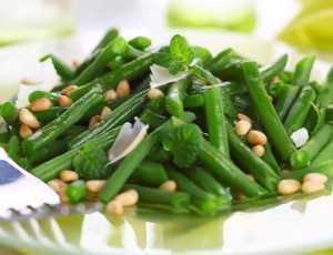 Studený fazolkový salát