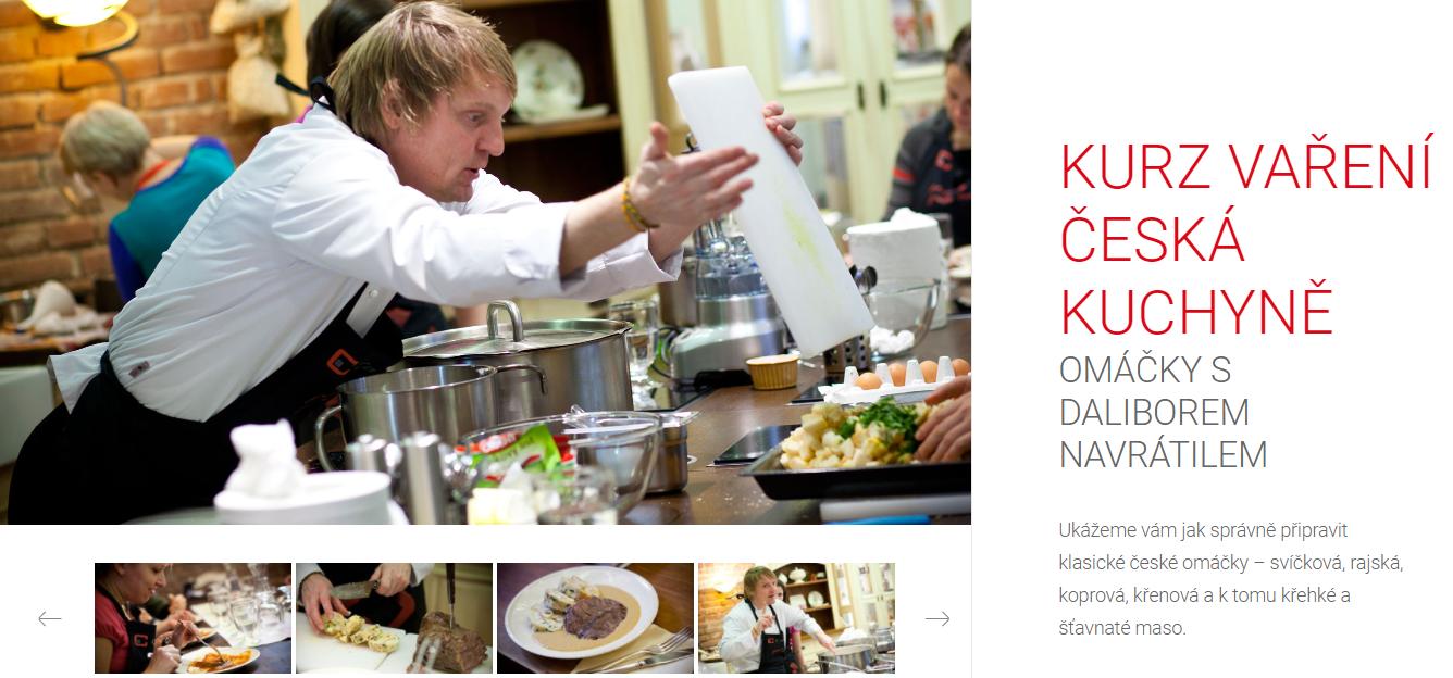 Kurz vaření české kuchyně