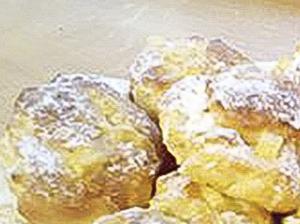 Čtenářka Marie peče_Jablečné koblížky pečené v troubě