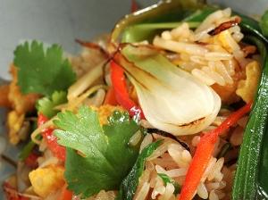 Rýže od oběda jako ideální surovina