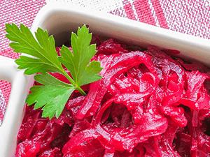Léčivý kvas z červené řepy