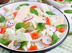 Salát bohatý na enzymy