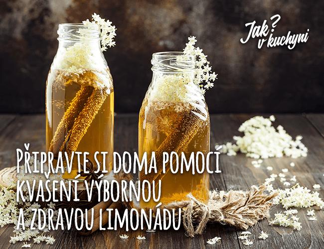 Připravte si doma pomocí kvašneí výbornou zdravou limonádu