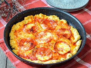 Pánvičková pizza