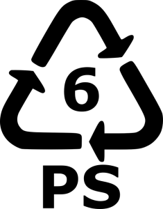 Recyklační symbol PS6