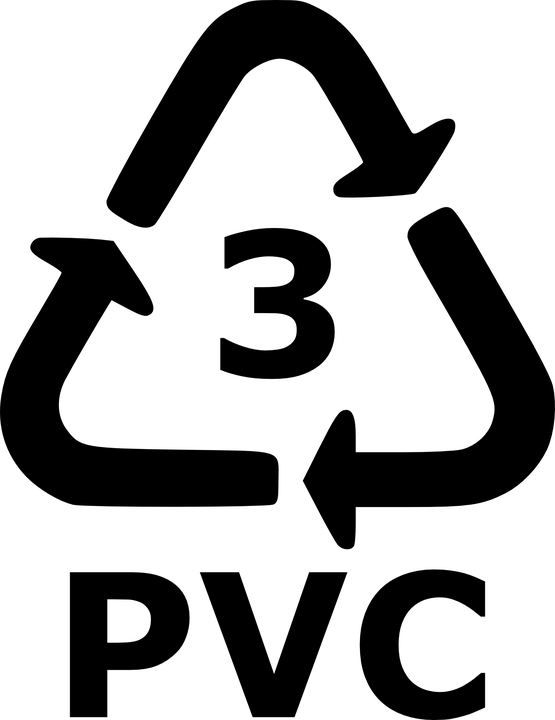 Recyklační symbol PVC 3