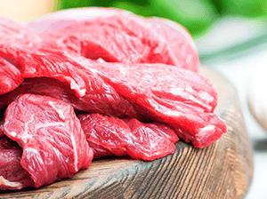 Pštrosí a bizoní maso