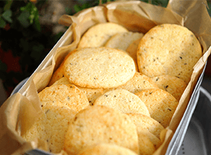 Citronovo-tymiánové sušenky