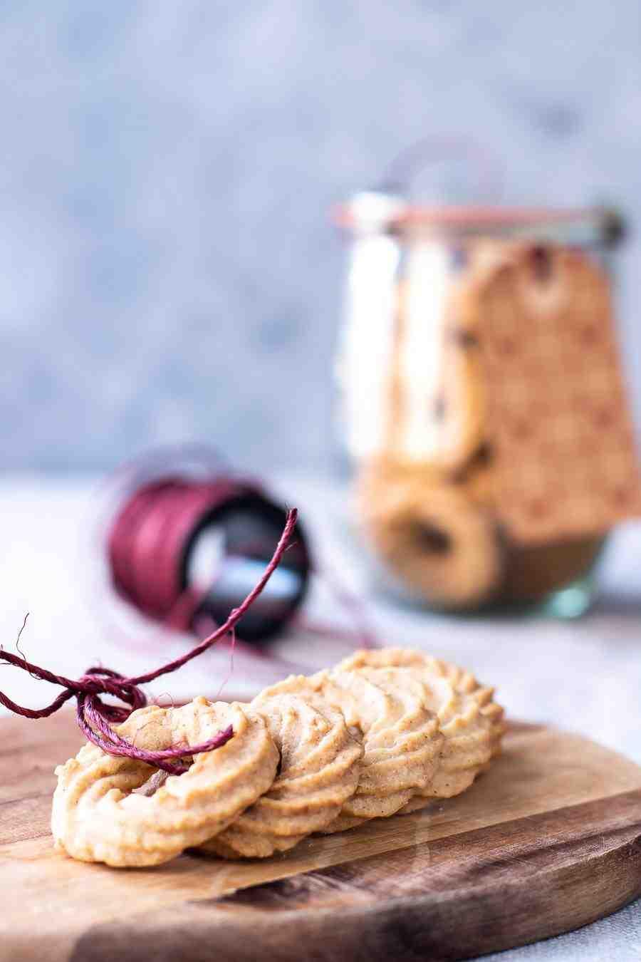 Vaniljekranse – Vanilkové věnečky