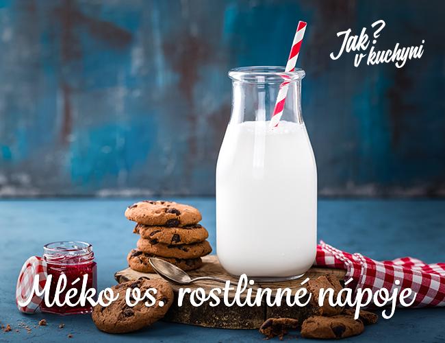 """Mléko vs. rostlinné nápoje (""""rostlinná mléka"""")"""