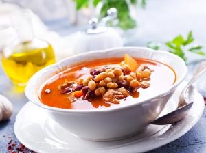 Luštěninová polévka, která nenadýmá…
