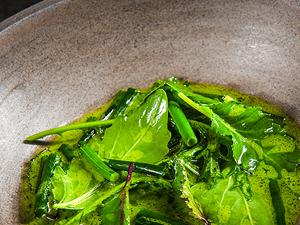 Stonky na bylinkové emulzi v podání šéfkuchaře Oldřicha Sahajdáka