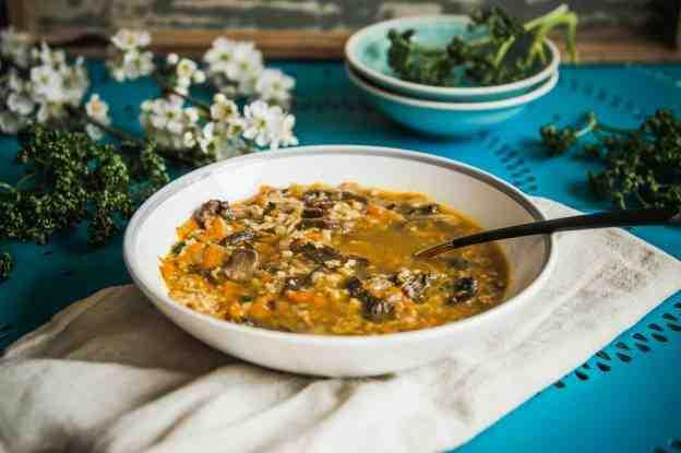 Jihočeská pucková polévka