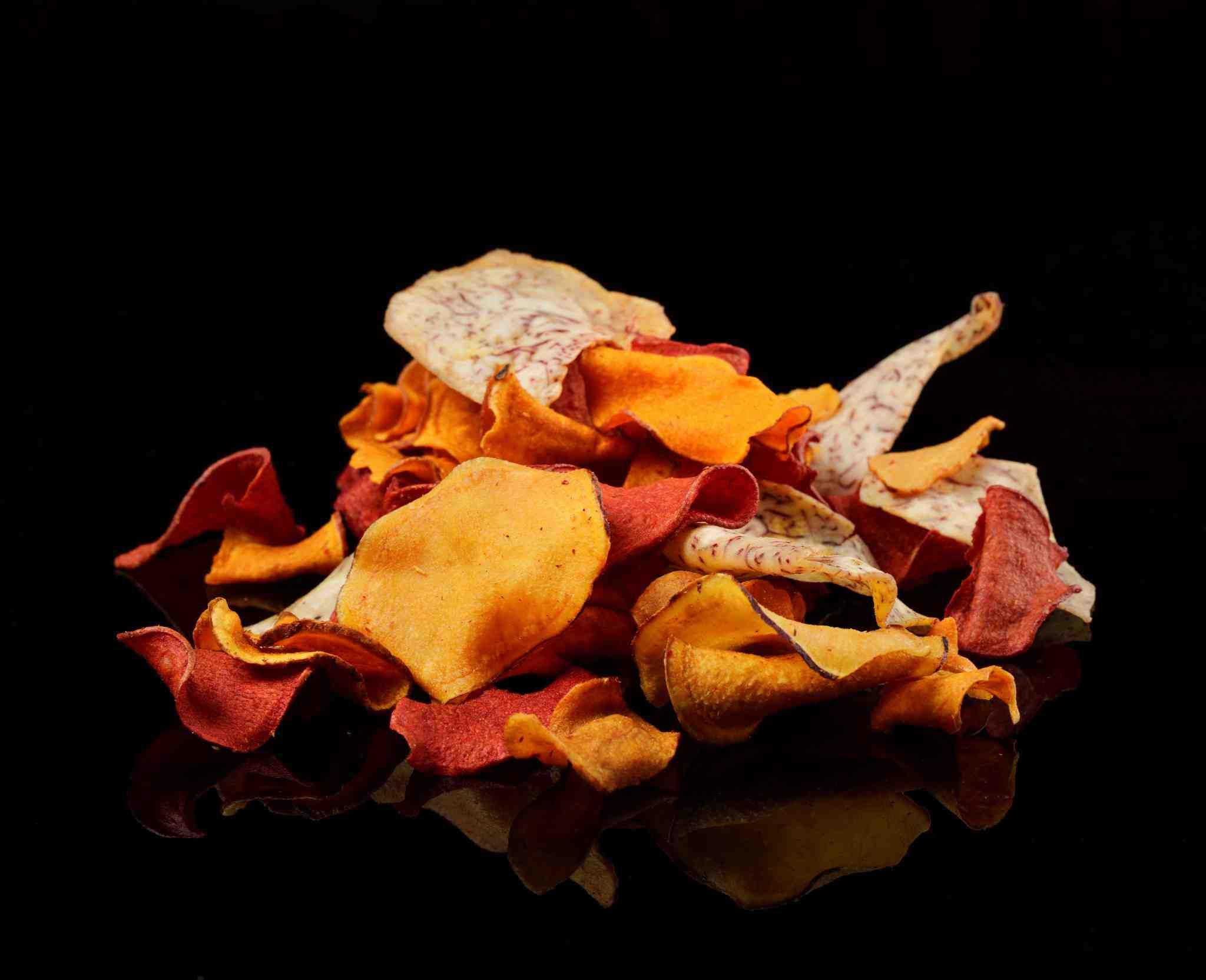 Zdravé chipsy