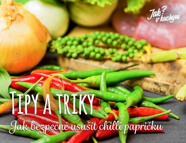 Tipy a triky_Jak bezpecne ocistit chilli papricku