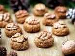 bezlepkové vánoční cukroví - ořechy