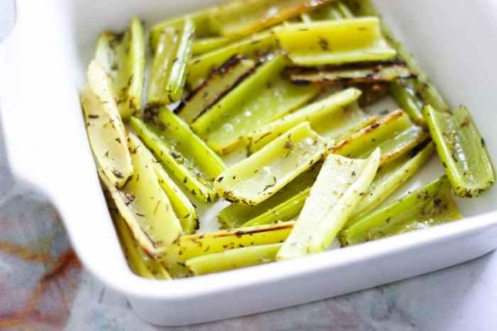 Pečený celer se semínky