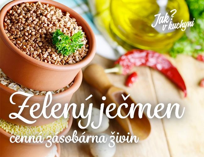 zeleny jecmen