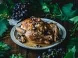 Kuře s hroznovým vínem a bylinkami